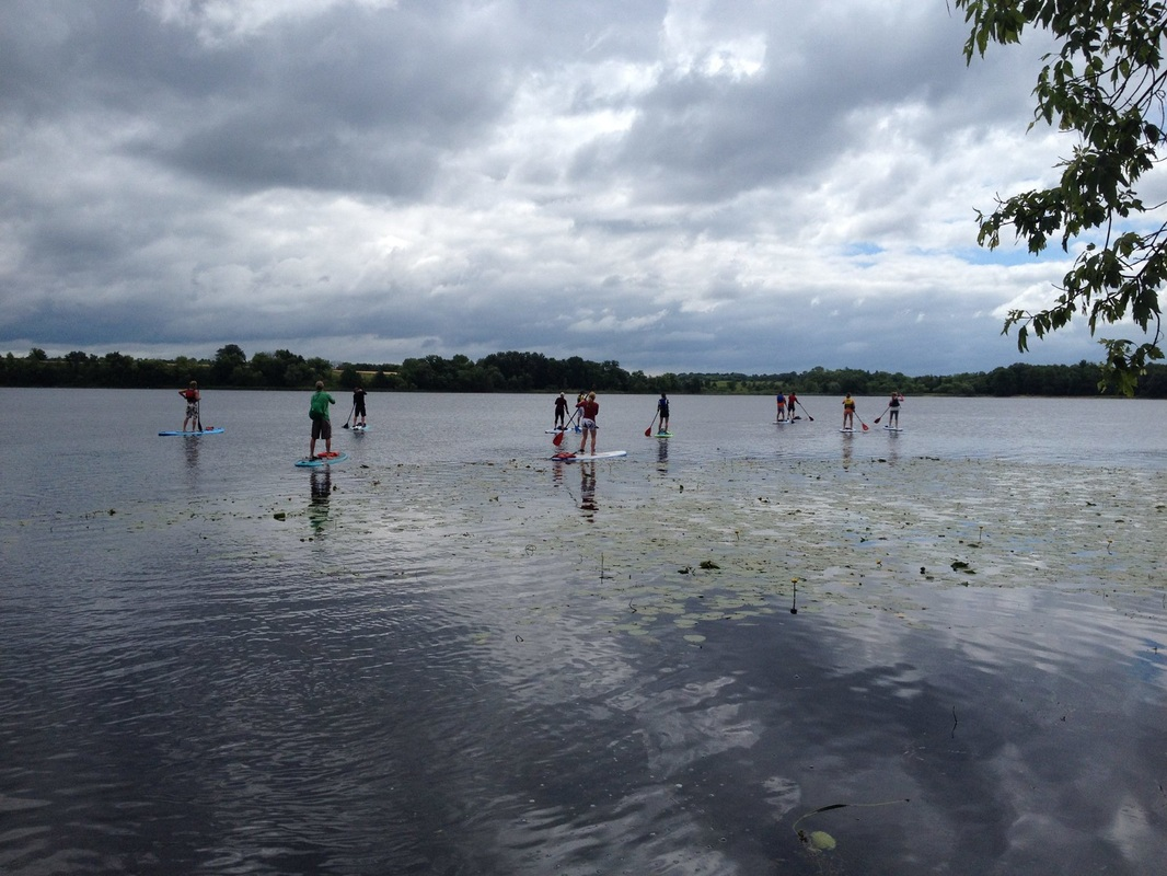Stand Up Paddleboarding in Alexandria MN